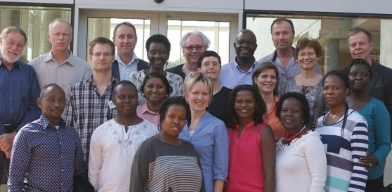 The SMART2D research team at the School of Public Health, University of the Western Cape.
